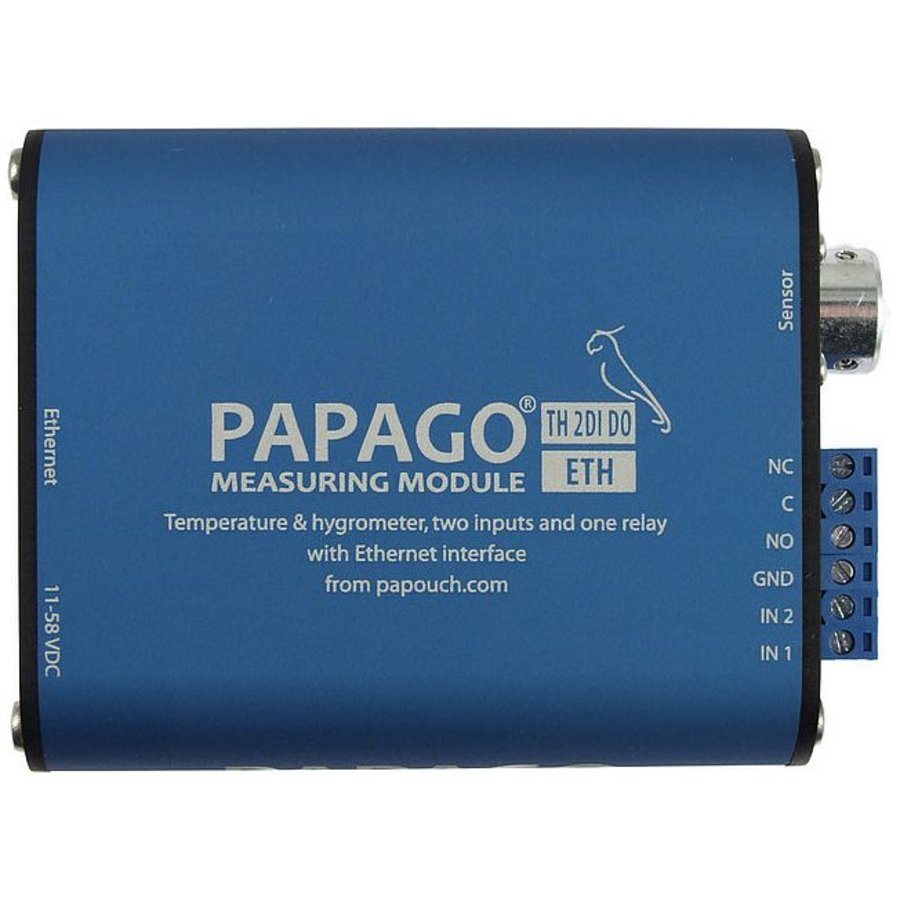 Papago TH 2DI DO ETH Environment monitor-3