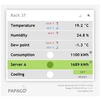 thumb-Papago TH 2DI DO ETH Environment monitor-4