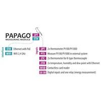 thumb-Papago TH 2DI DO ETH Environment monitor-10