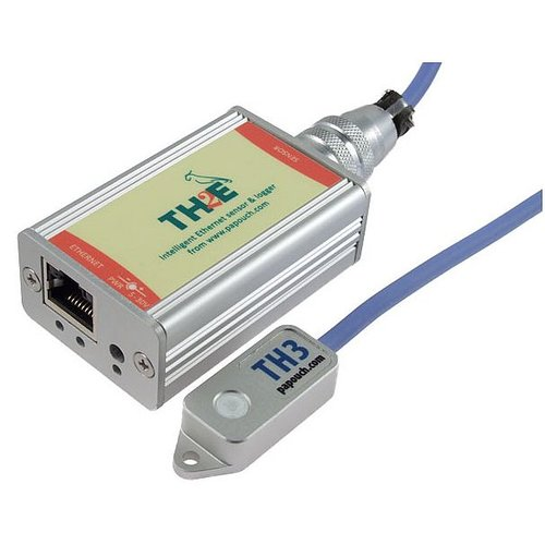 Papouch TH2E - Ethernet Temperature and Humidity Sensor