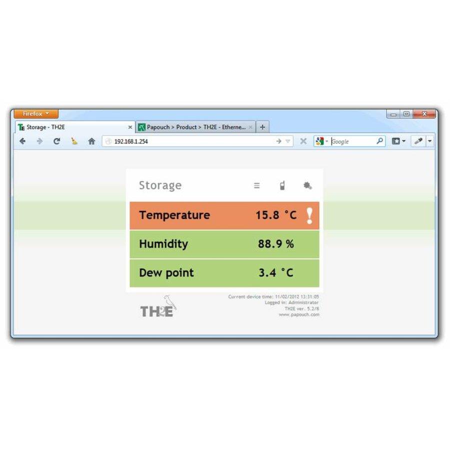 TH2E - Ethernet Temperature and Humidity Sensor-7