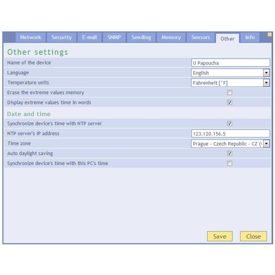 TH2E - Ethernet Temperature and Humidity Sensor-8