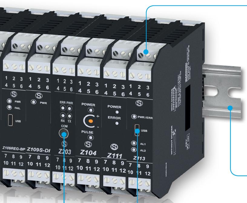 Z-Line Converters and Isolators