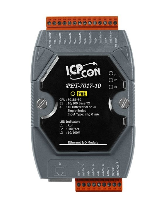 PET-7000 Modbus TCP Ethernet