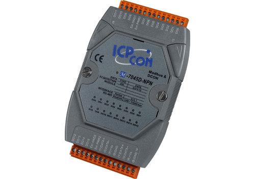 ICPDAS M-7045D-NPN-G CR