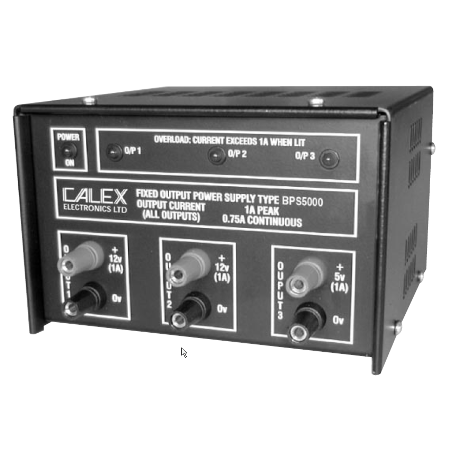 BPS5000 Fixed Triple Output Bench Top Power Supply-1