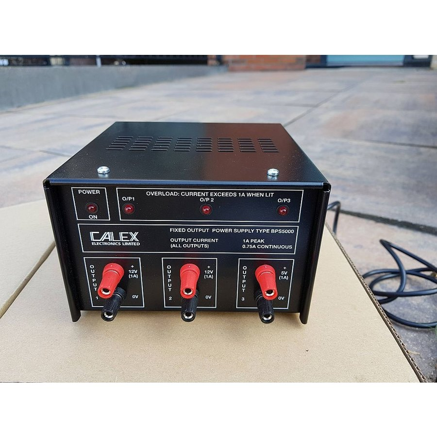 BPS5000 Fixed Triple Output Bench Top Power Supply-2