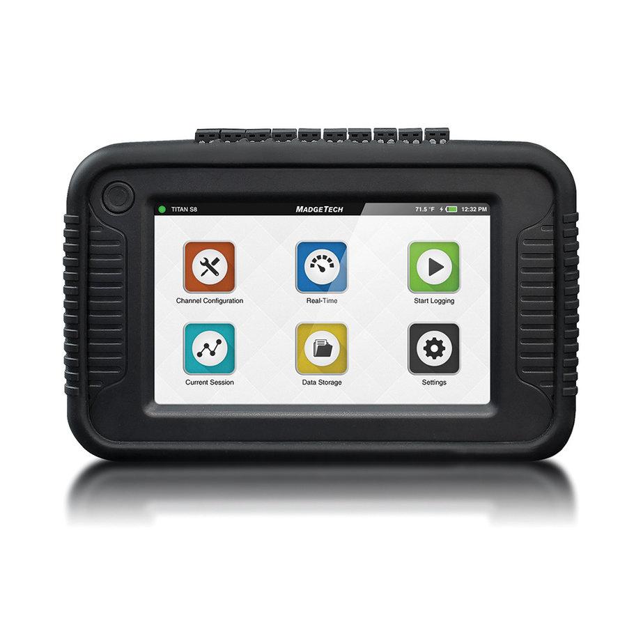 TITAN S8 draagbare datalogger met touchscreen en Wi-Fi-3