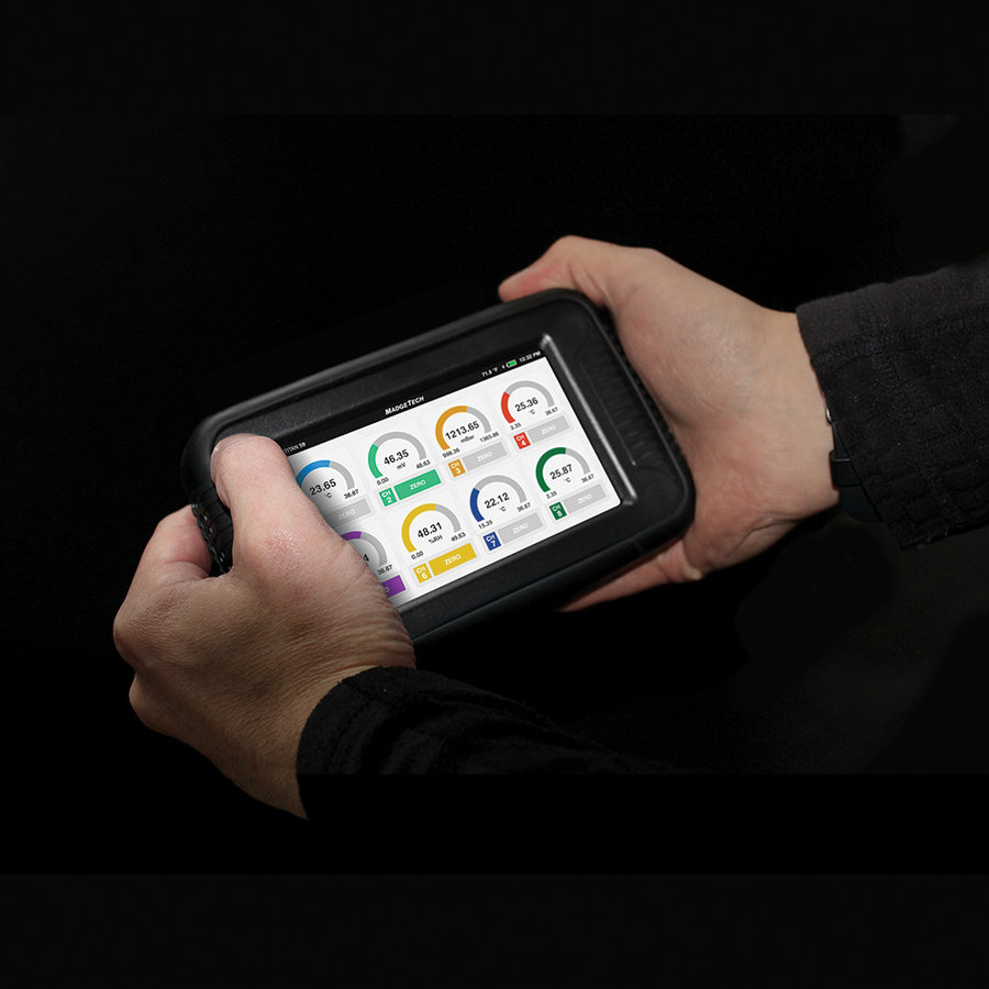 TITAN S8 draagbare datalogger met touchscreen en Wi-Fi-5