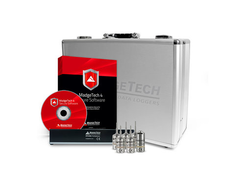 Madgetech AVS140-6 Autoclave Validation Data Logging System