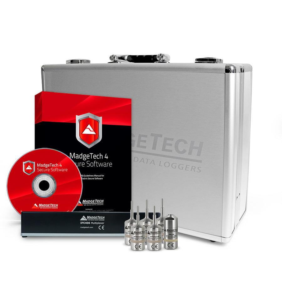AVS140-6 Autoclaaf Validatie Datalogging Systeem-1