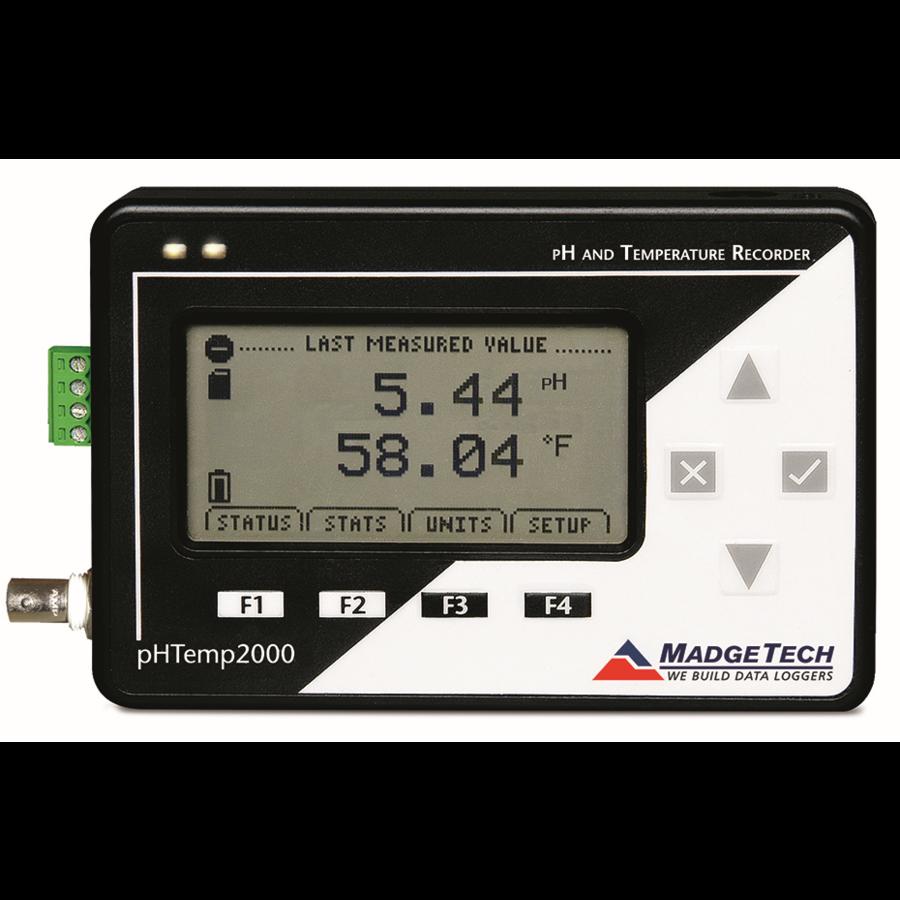 pHTemp2000 Data Logger-1
