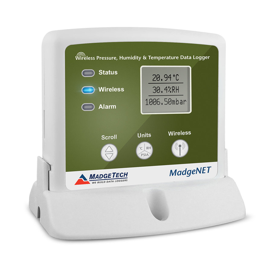 RFPRHTemp2000A Wireless Pressure, Humidity and Temperature Data Logger-1