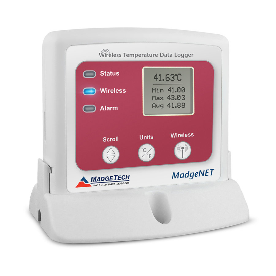 RFTemp2000A Wireless Temperature Data Logger with LCD Display-1