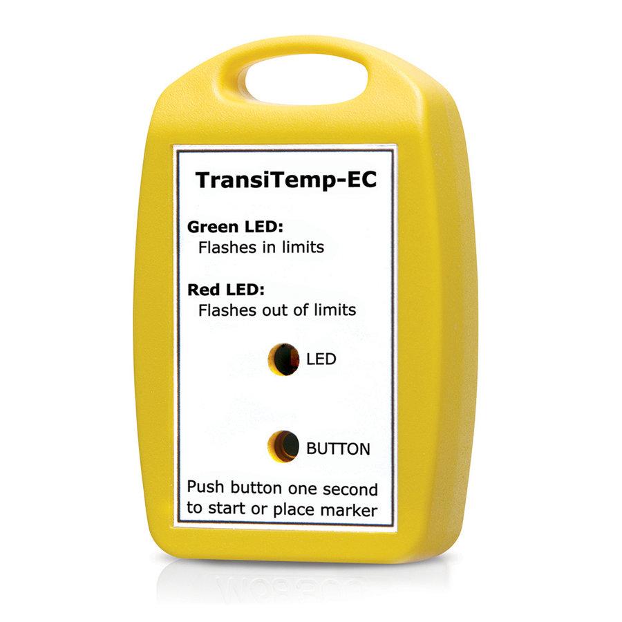 TransiTemp-EC Data Logger (10 pcs Pack), Single Use logger.-1