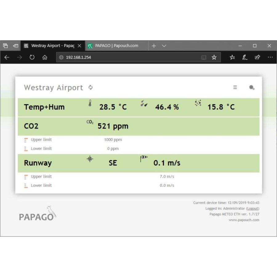 PAPAGO Meteo ETH-4