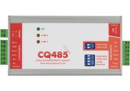 Papouch CQ485 - RS485 / 422 repeater en isolator