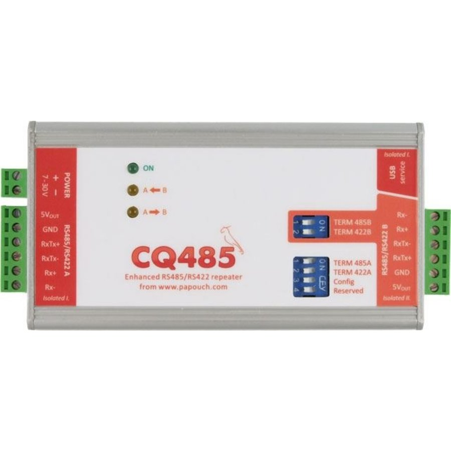 CQ485 - RS485 / 422 repeater en isolator-1