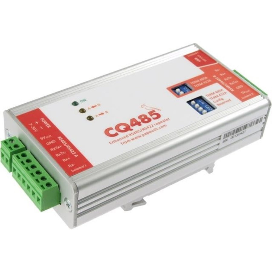 CQ485 - RS485 / 422 repeater en isolator-3