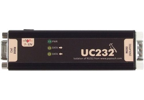 Papouch UC232 - RS232-isolator