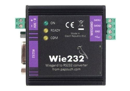 Papouch Wie232 - Wiegand converter to RS232