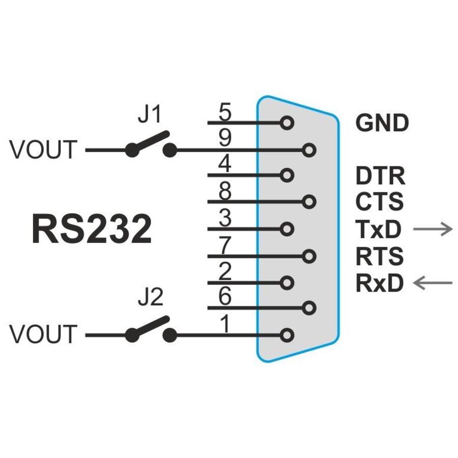 EDGAR WiFi: WiFi naar RS232- of RS485-converter-10