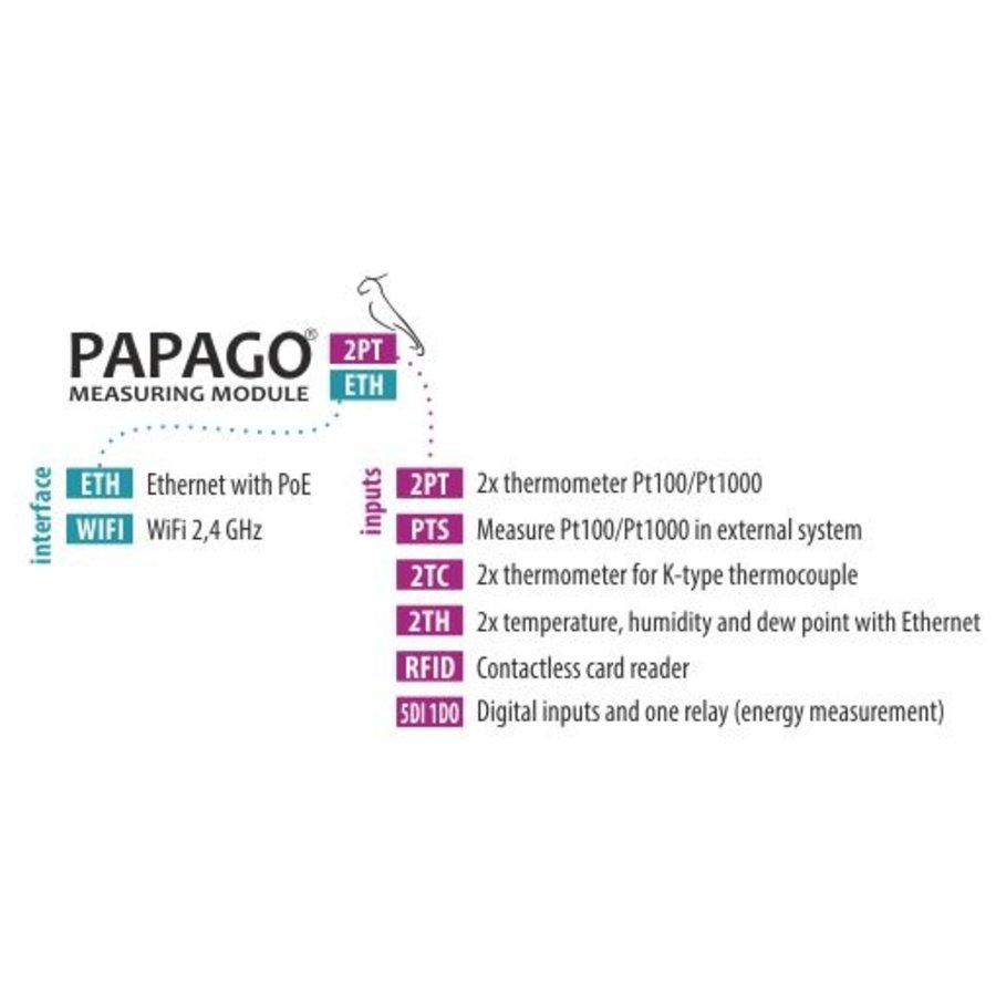 PAPAGO 2TH ETH-8