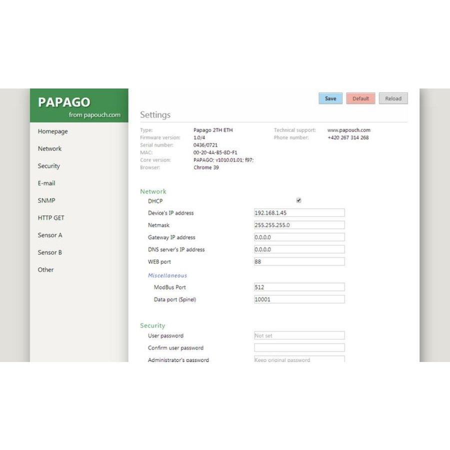 PAPAGO 2PT ETH-4