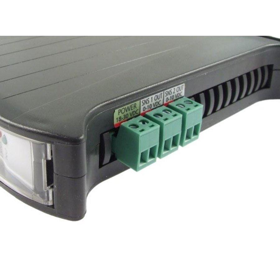 DSA2 - 2x D/A converter DS18B20 to 0-10V-2