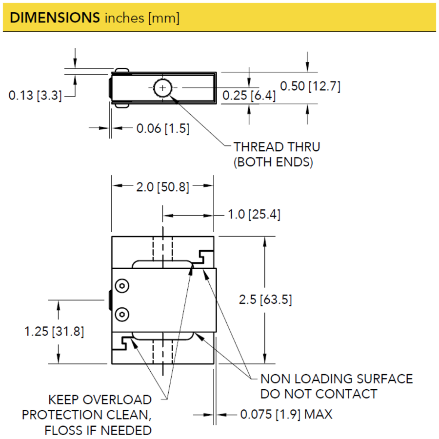 LSB302 S-Beam Tension and Compression Load Cell-5