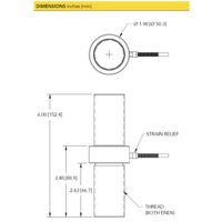thumb-LCM550 Threaded In Line Load Cell - Cable Version-5