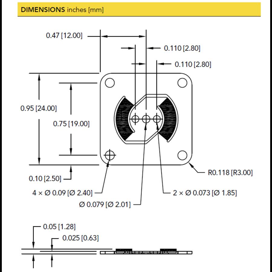 FFP350 Flat Plate Force Sensor-4
