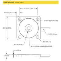 thumb-LLB390 Low Profile Load Button with Through Holes-4