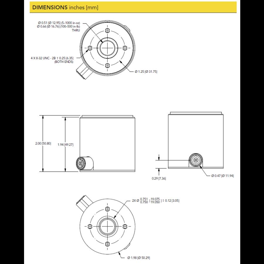 TFF400 Reaction Torque Sensor-6