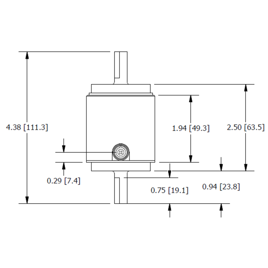 TSS400 Shaft-to-Shaft Reaction Torque Sensor-6