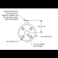 thumb-TDD400 Square-Drive to Square-Drive Reaction Torque Sensor-8