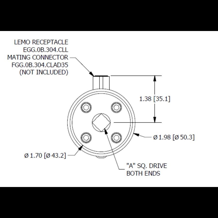 TDD400 Square-Drive to Square-Drive Reaction Torque Sensor-8