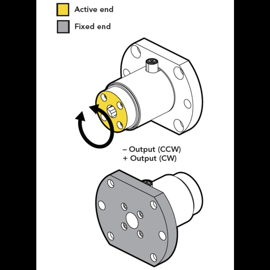 TDF400 Flange-to-Square-Drive Torque Sensor-6