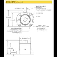 thumb-TDF600 Flange-to-Square Reaction Torque Sensor-6