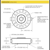 thumb-LCF550 High Capacity Pancake Load Cell-5