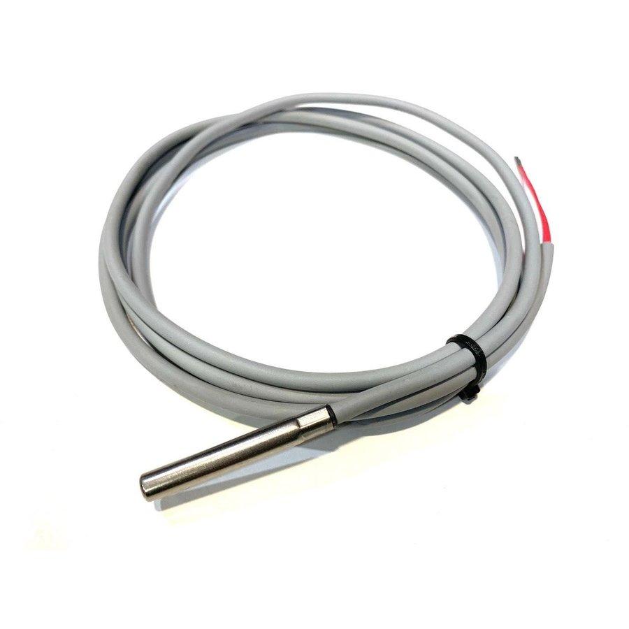 PT1000 / 2-draads voordelige temperatuursensor, 1,5 m siliconen kabel-1