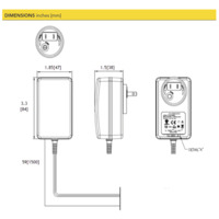 thumb-APA100 Power Supply Kit for IAA200/IAA300 Instruments-3