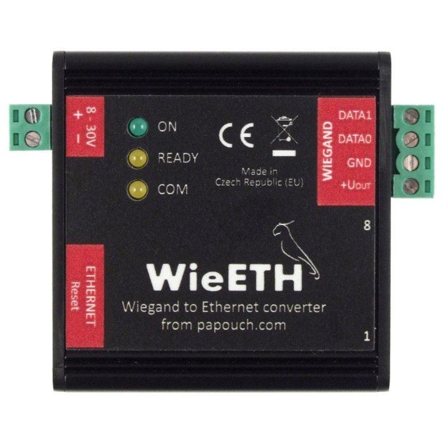 WieETH: Bidirectionele converter Ethernet - Wiegand-1