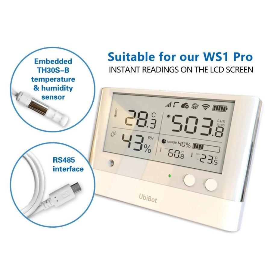 Temperature & Humidity Probe - Micro USB for WS1 Pro-2