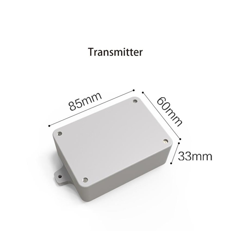 Pt100 Temperature probe 3 meter for GS1 - Audio plug-3