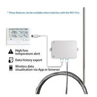 thumb-Pt100 Temperature probe 3 meter for GS1 - Audio plug-4