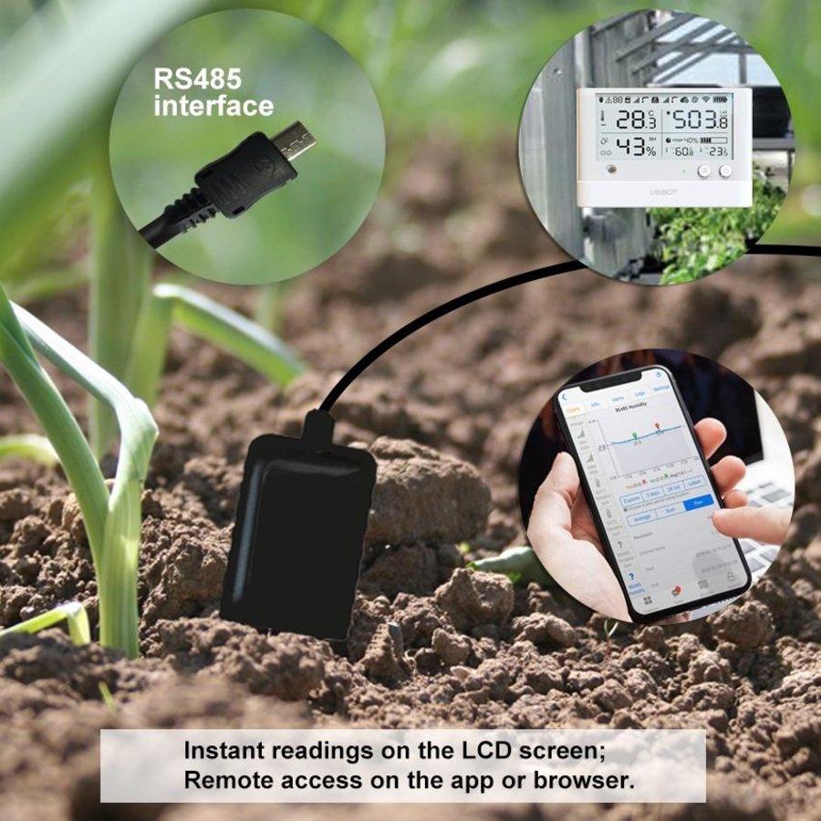 Soil Temperature and Moisture probe 3 m - USB for WS1 Pro-4