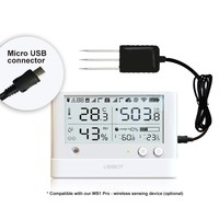 thumb-Soil Temperature and Moisture probe 3 m - USB for WS1 Pro-2
