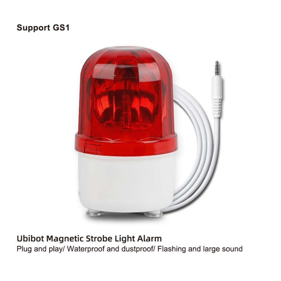Flash-Light + Audible Alarm - Red color-1