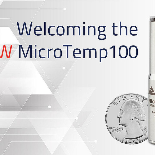 The new MicroTemp100 Datalogger